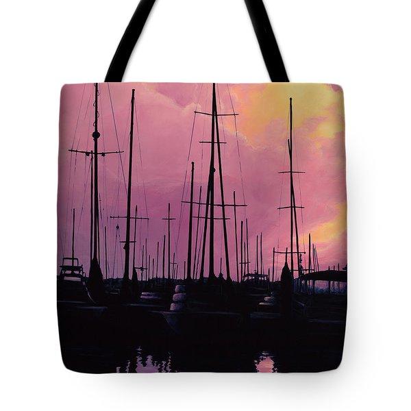 Harbor Glow Tote Bag