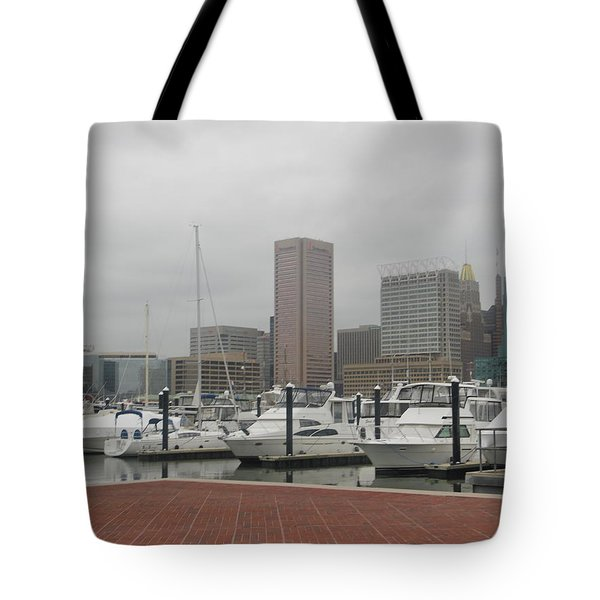 Harbor Happiness Tote Bag