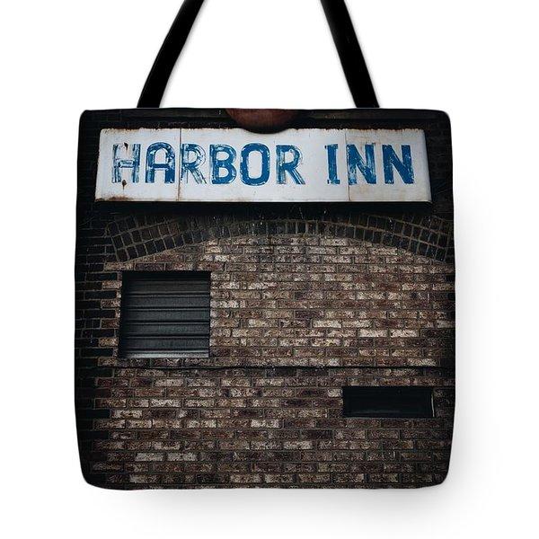 Harbor Inn Tote Bag