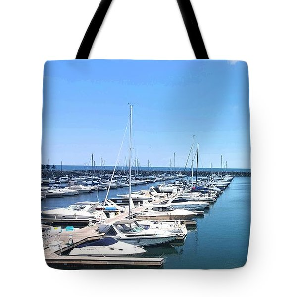 Harbor Life Tote Bag