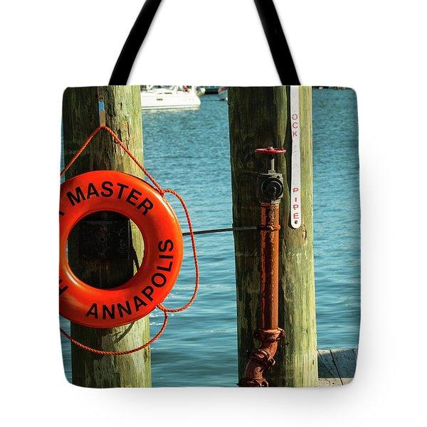Harbor Life Preserver Tote Bag
