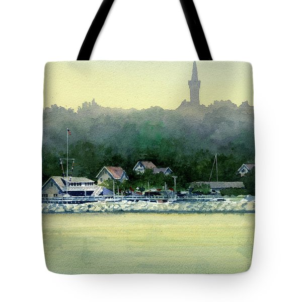 Harbor Master, Port Washington Tote Bag