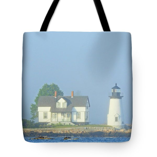 Harbor Mist Tote Bag
