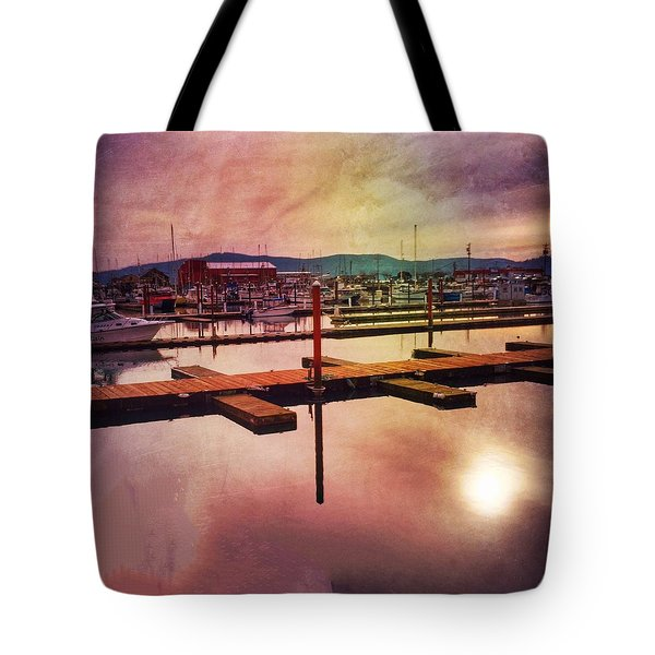 Harbor Mood Tote Bag