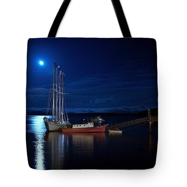 Harbor Moon Tote Bag