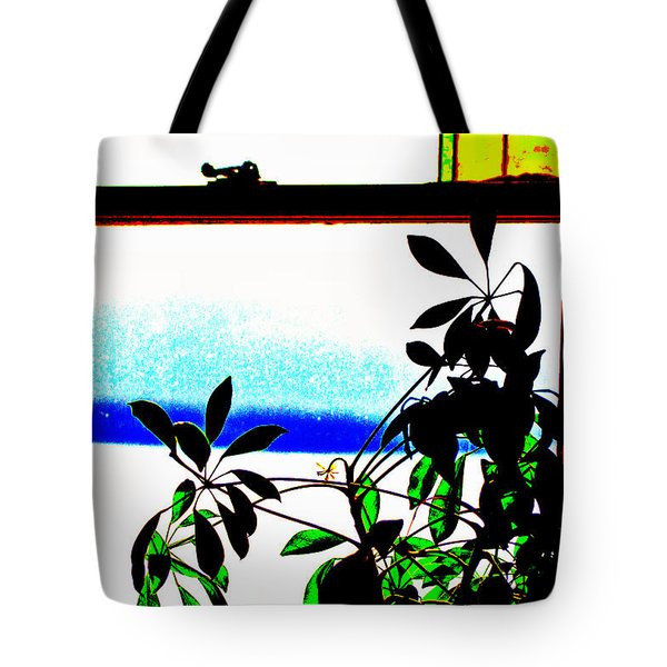 Harbor Side Window Tote Bag