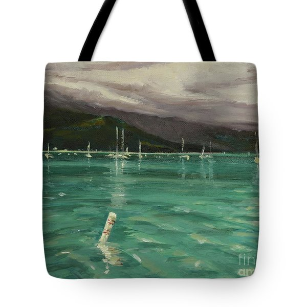 Harbor View Tote Bag