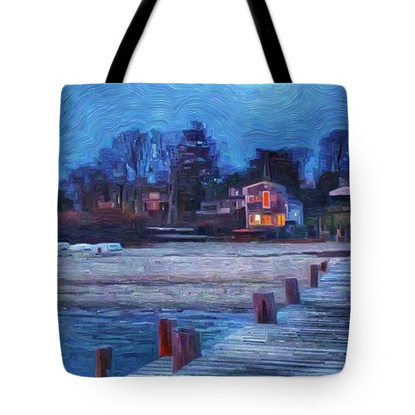 Harbormasters Office Owen Park Tote Bag