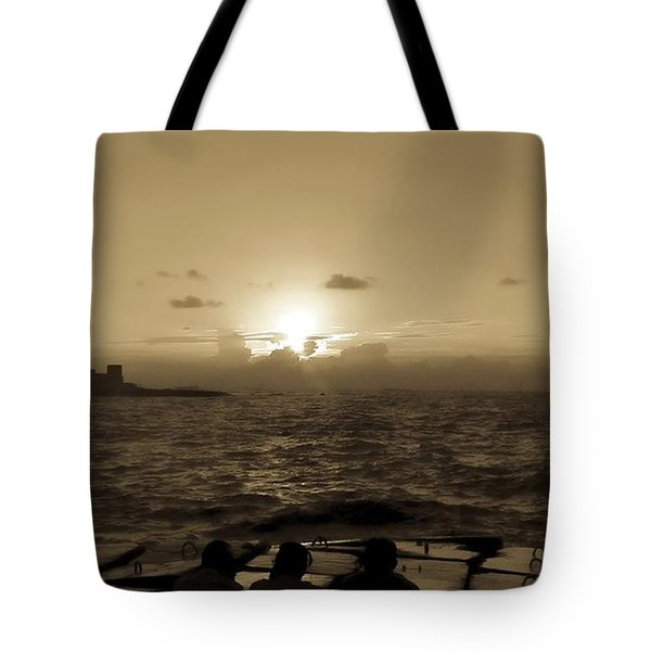 Harbour, Alexandria, Egypt Tote Bag