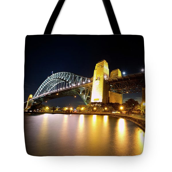 Harbour Fence Tote Bag