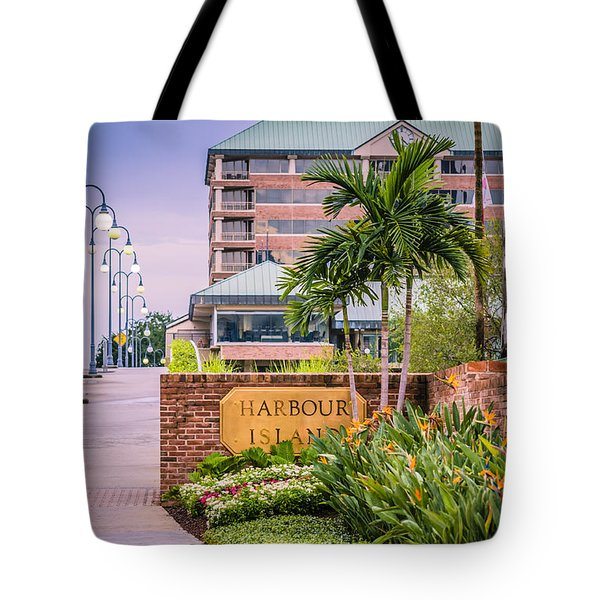 Harbour Island Retreat Tote Bag by Carolyn Marshall