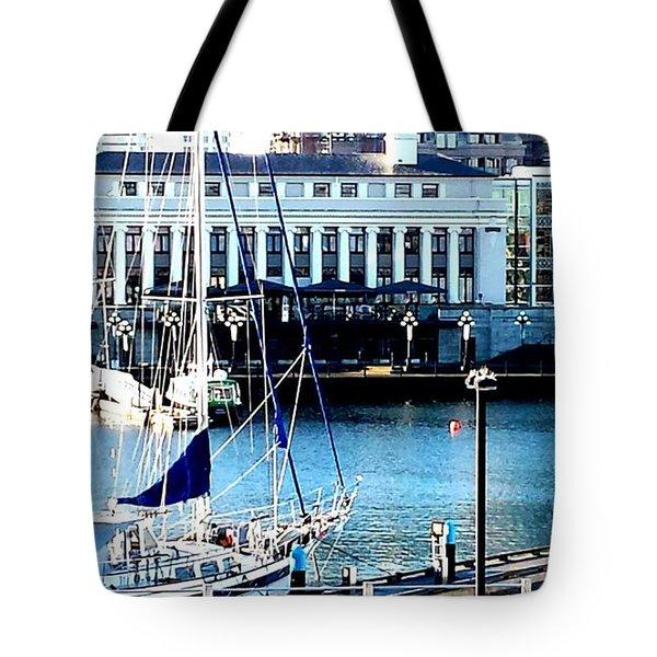 Harbour Sail Tote Bag