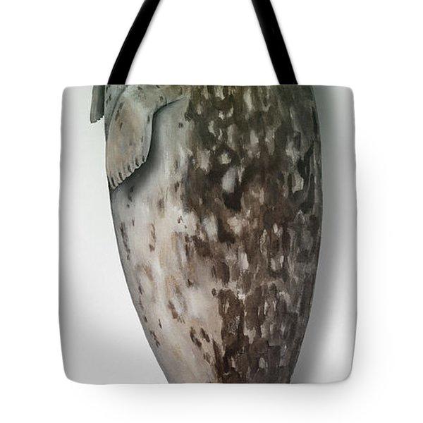 Harbour Seal - Harbor Seal - Phoca Vitulina - Phoque Commun - Foca Comune - Pinniped - Sleeping  Tote Bag