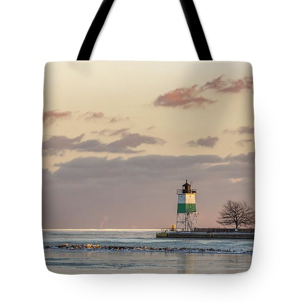 Harbour Sunset Tote Bag
