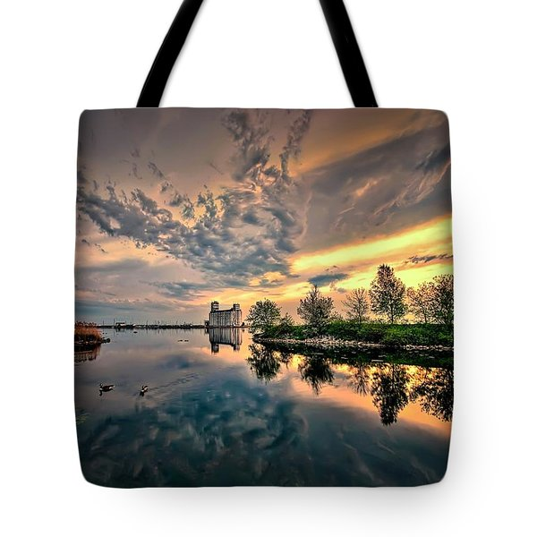 Harbour View Park Tote Bag