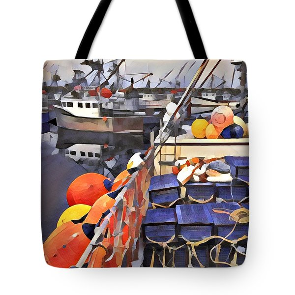 Harbour Ville Tote Bag