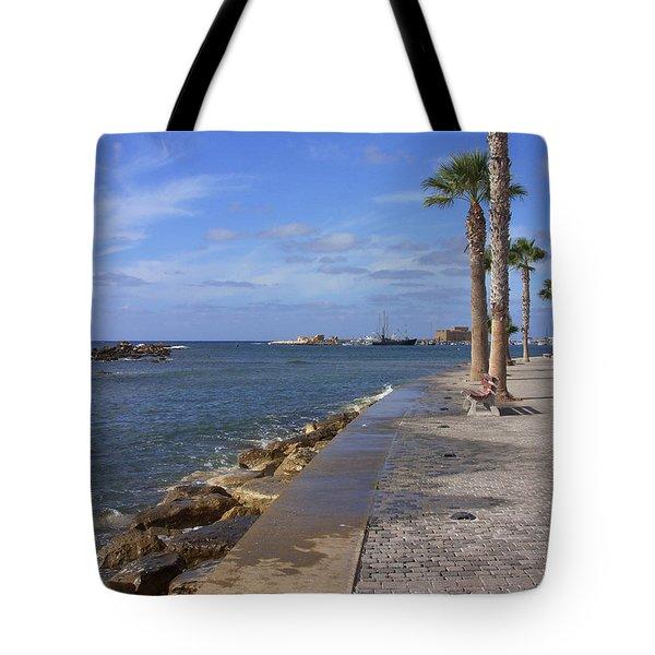 Harbour Walk Tote Bag