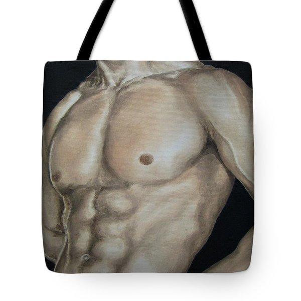 Hard Body Tote Bag by Jindra Noewi