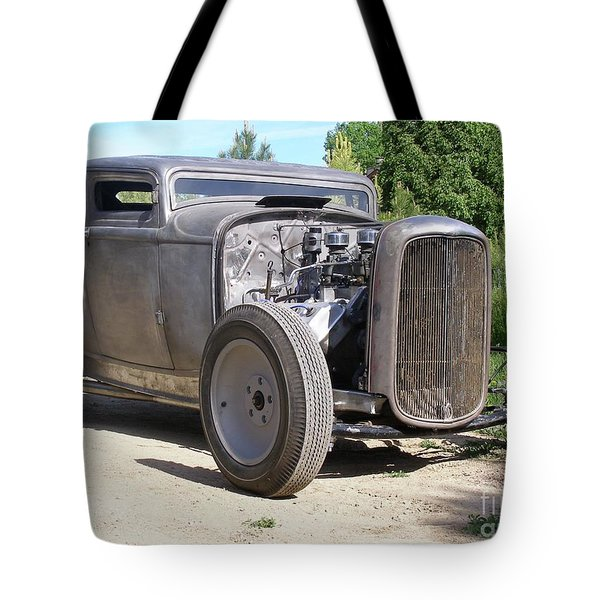 Hard Chop Tote Bag