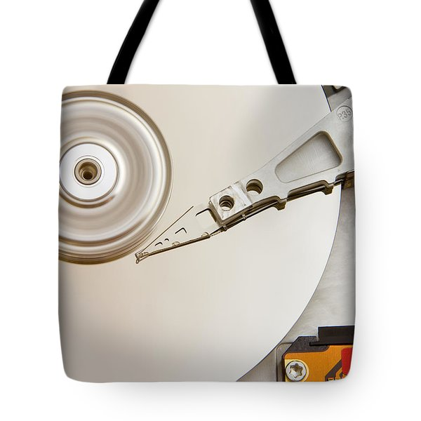 Hard Drive Tote Bag