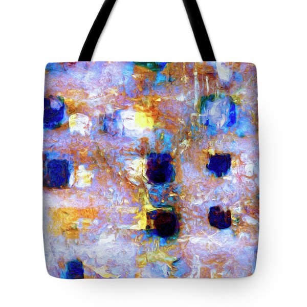 Tote Bag featuring the painting Hard Eight by Dominic Piperata