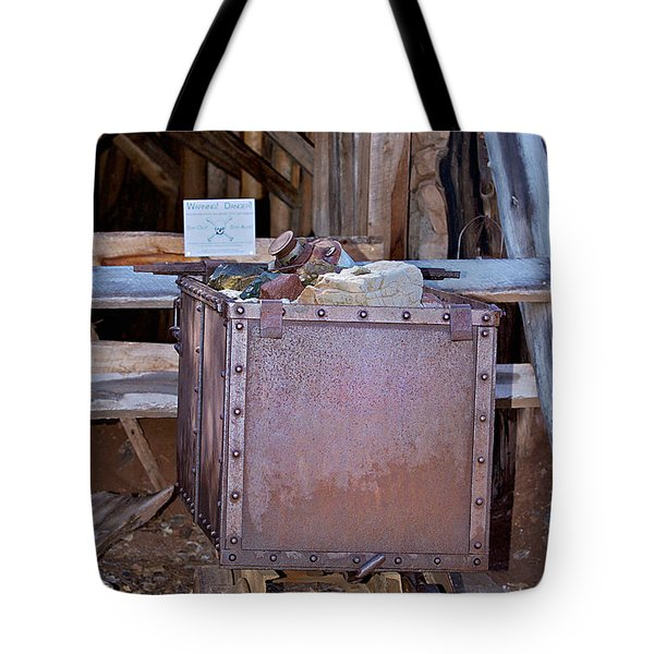 Hard Hat Area Tote Bag by Phyllis Denton