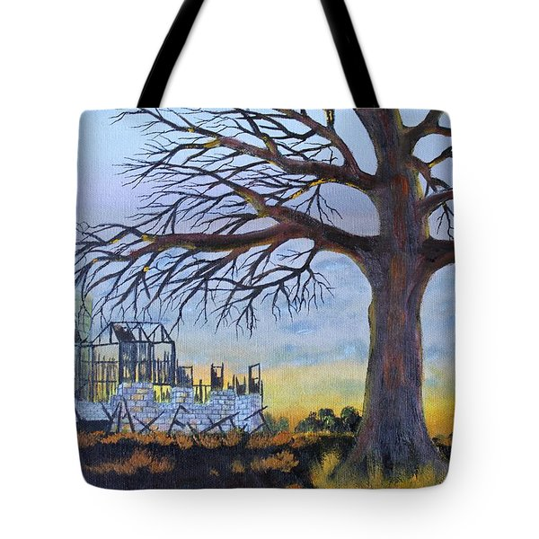 Hard Life Remnants Tote Bag by Jack G  Brauer