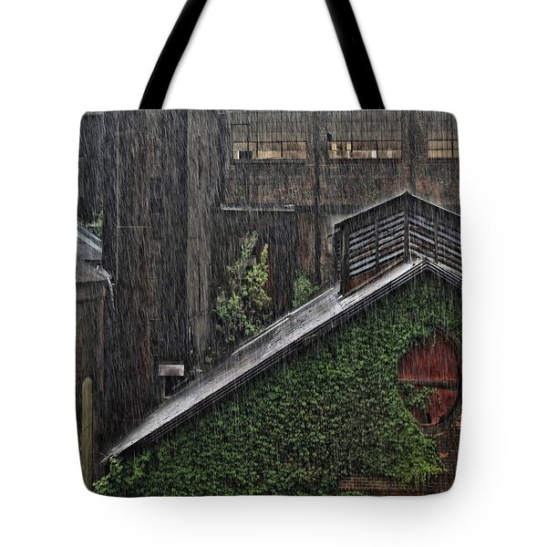 Hard Rain Tote Bag