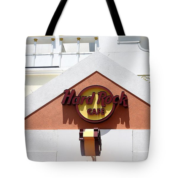 Hard Rock Cafe Tote Bag by Allen Beilschmidt
