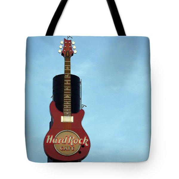 Hard Rock Cafe Tote Bag by Joseph Skompski