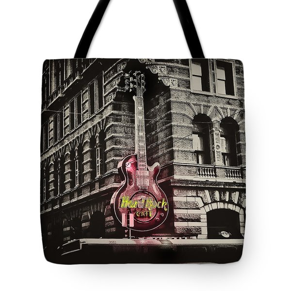 Hard Rock Philly Tote Bag by Bill Cannon