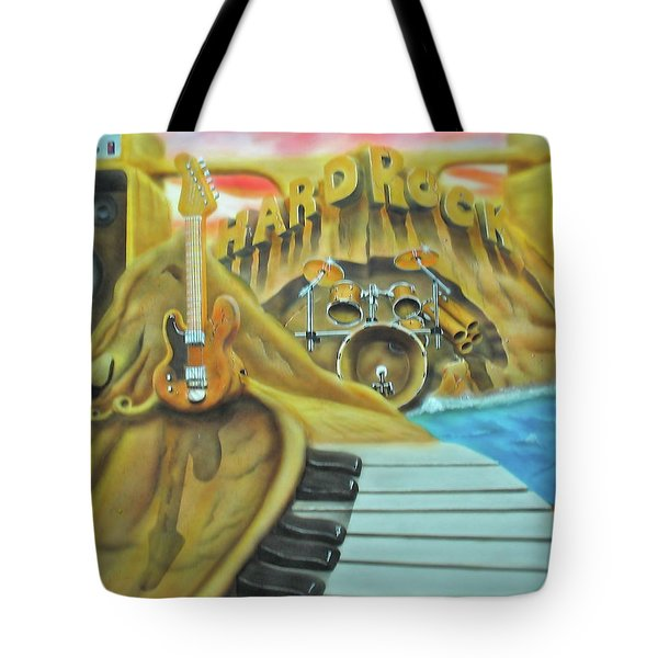 Hard Rock Tote Bag