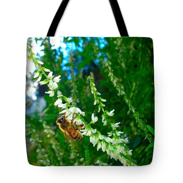 Hard Working Bee Tote Bag