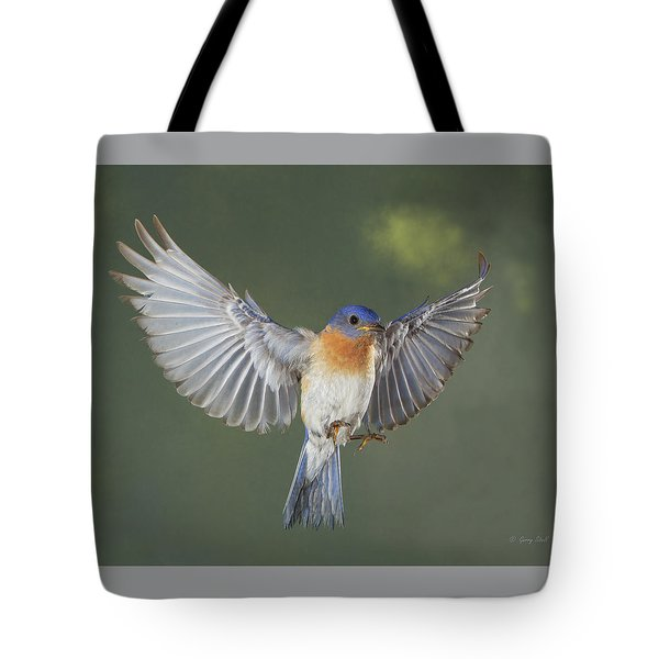 Hard Working Blue Tote Bag