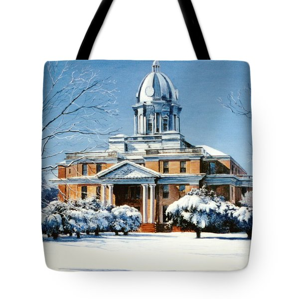 Hardin County Courthouse Tote Bag