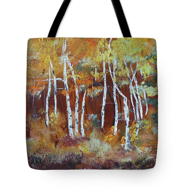 Harding Way  Aspens Dancing Tote Bag