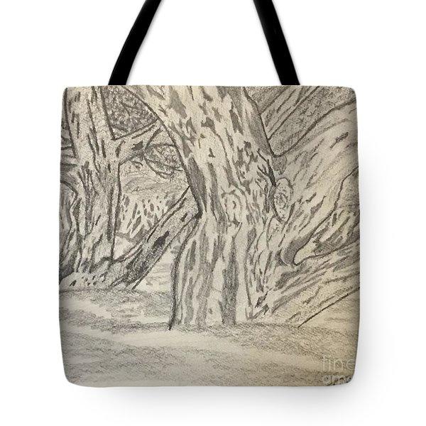 Hardwoods Tote Bag