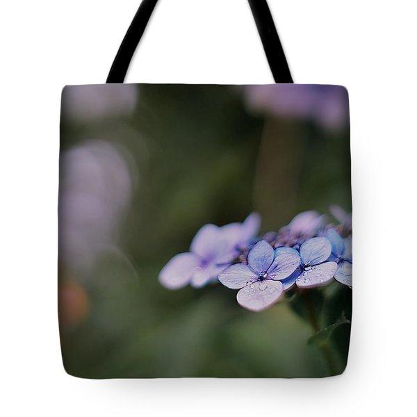 Hardy Blue Tote Bag
