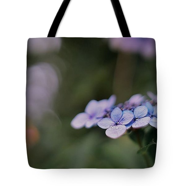 Hardy Blue Tote Bag