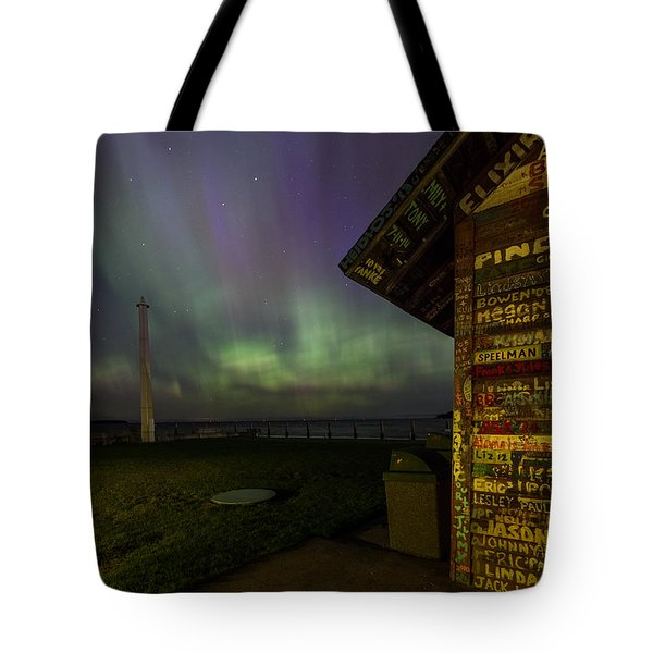 Hardy Gallery Northern Lights Tote Bag