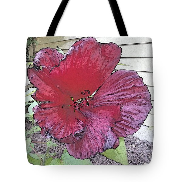 Hardy Hibiscus Tote Bag
