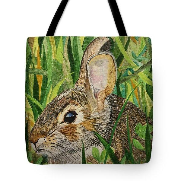 Hare's Breath Tote Bag