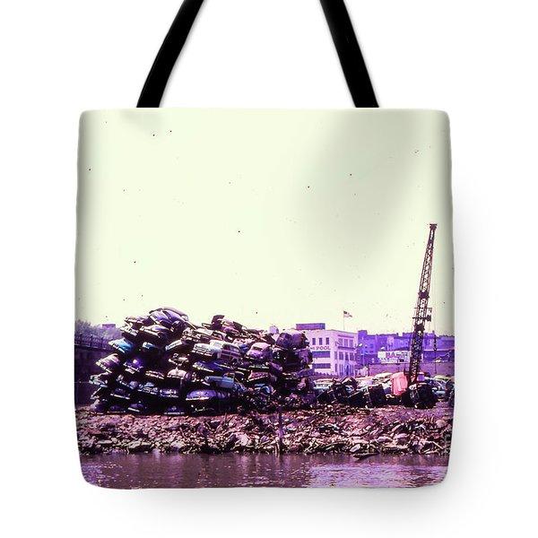 Harlem River Junkyard Tote Bag