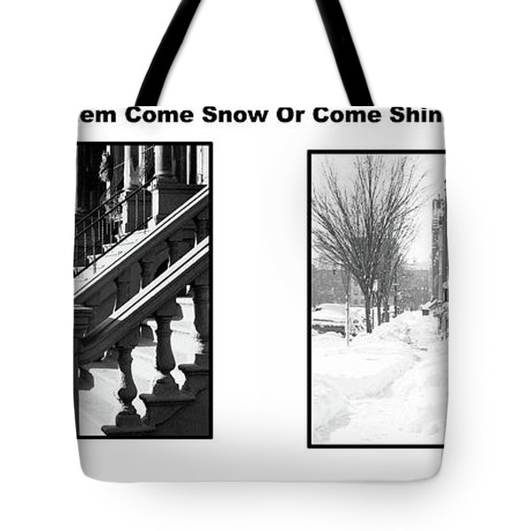 Harlem Summer Winter Tote Bag