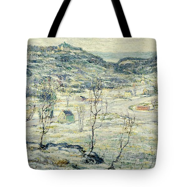 Harlem Valley, Winter Tote Bag