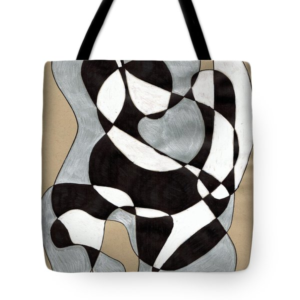 Harlequin Abtracted Tote Bag