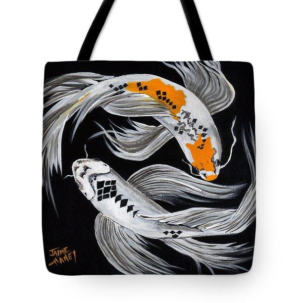 Harlequin Dance Tote Bag