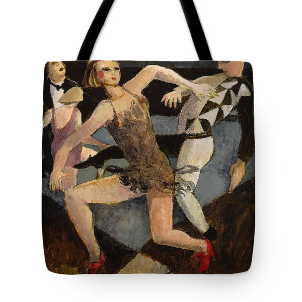 Harlequin Floor Show Tote Bag