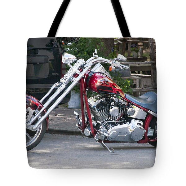 Harley Chopped Tote Bag