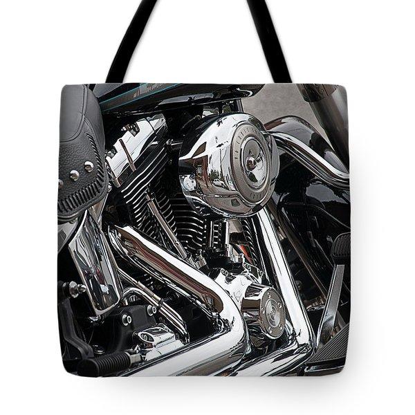 Harley Chrome Tote Bag
